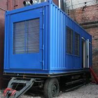 Вагончик дизель-генераторной установки